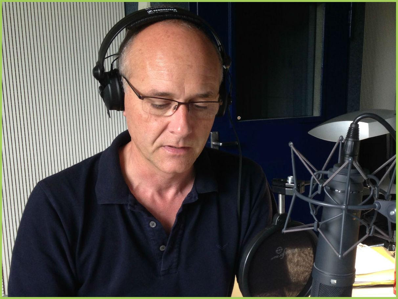 Martin Ruthenberg am Mikrofon